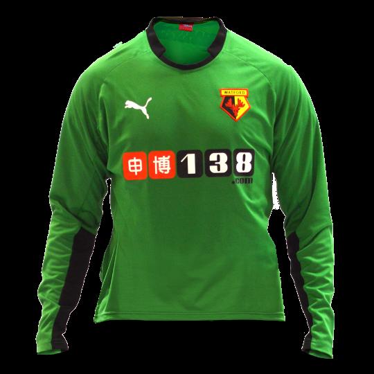 Watford Home GK Kit 2014 15