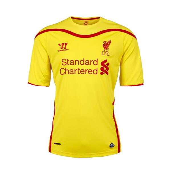 Yellow Liverpool Kit 2014 15