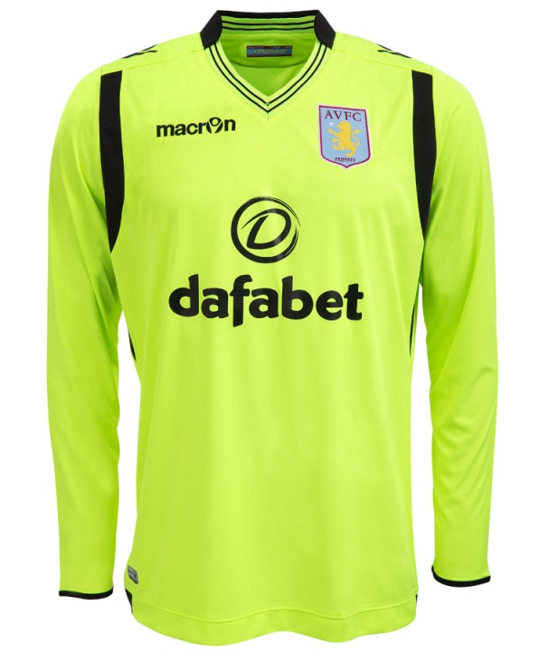 AVFC Away Goalkeeper Shirt 2014 2015