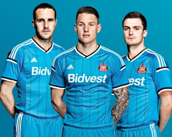 Blue Sunderland Away Kit 14 15