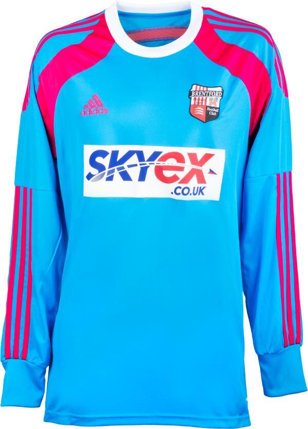 Brentford FC GK Kit 2014 15