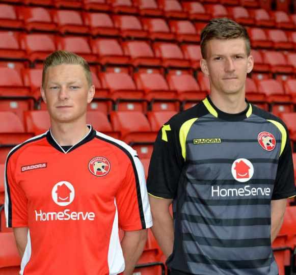 Diadora Walsall FC Shirt 2014 2015