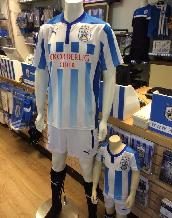 Huddersfield New Football Kit 14 15