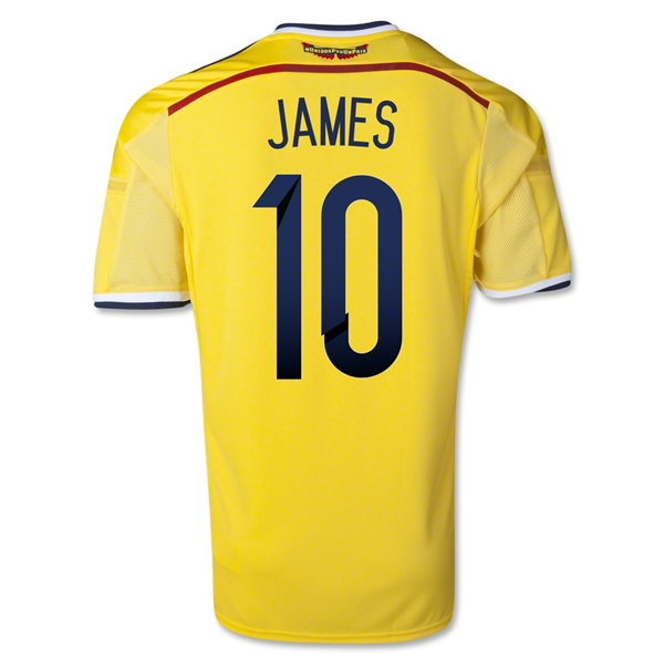 James Rodriguez Colombia Jersey 2014