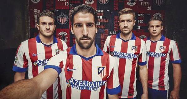 Jersey Atletico Madrid 2014 15