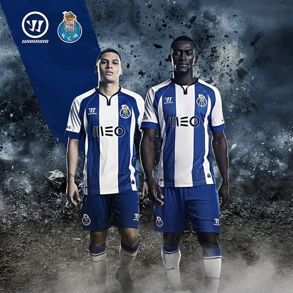 Fc Porto: New FC Porto Warrior Jersey 2014/15- FCP Home Kit 14/15