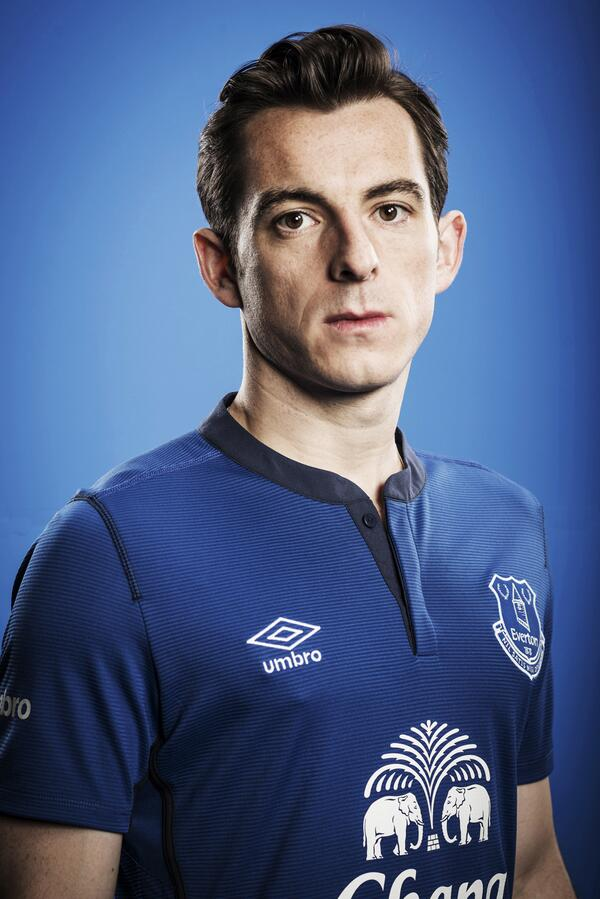 Leighton Baines EFC New Kit