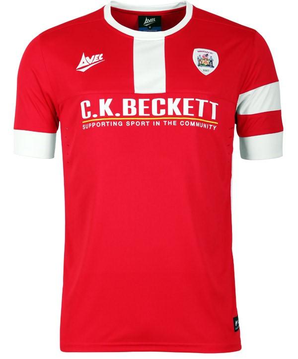 New Barnsley Avec Kit 2014 15