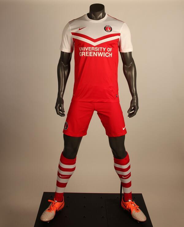New Charlton Kit 14 15