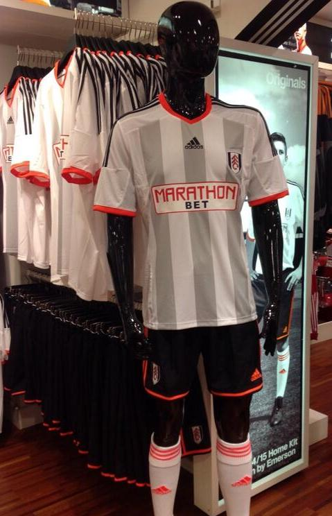 New Fulham Home Strip 2014 15