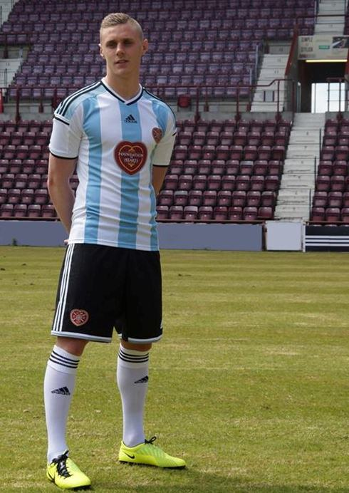 New Hearts Away Kit 2014 15