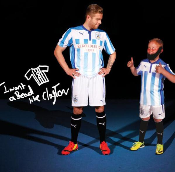 New Huddersfield Town Puma Kit 2014 15
