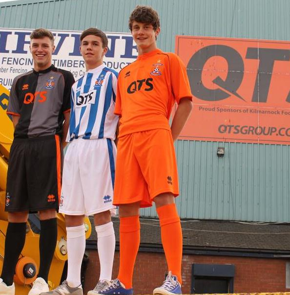New Killie FC Strip 2014 15