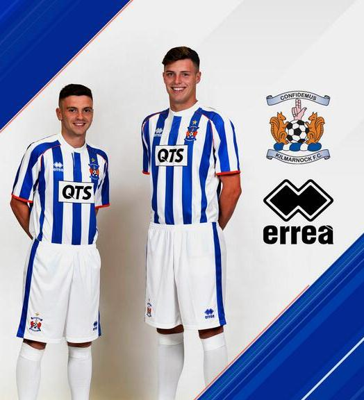 New Kilmarnock Home Kit 2014 15