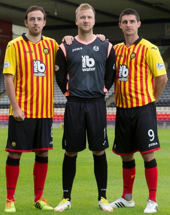New Partick Thistle Strip 14 15