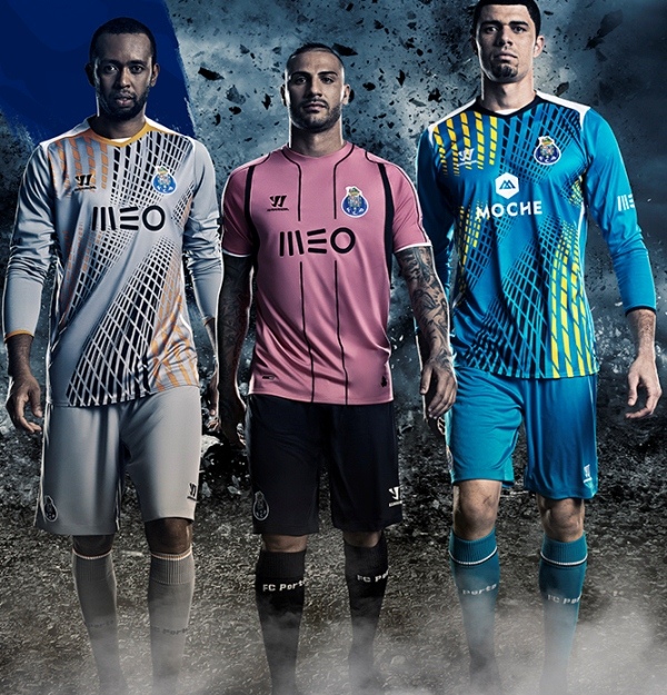 New Porto 3rd Kit 2014 15