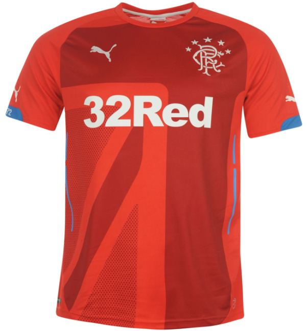 New Rangers Third Kit 2014 15