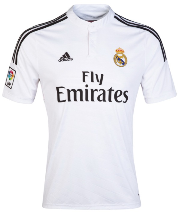 New Real Madrid Home Kit 2014 15