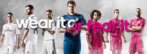 New Real Madrid Kit 14 15