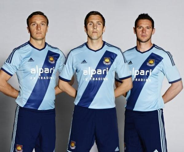 New West Ham Away Kit 2014 15