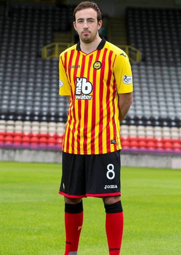 Partick Thistle Home Strip 14 15