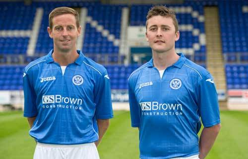 St.Johnstone Home Kit 14 15