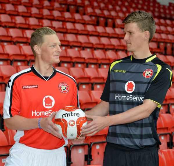 Walsall FC Homeserve Kit Sponsor