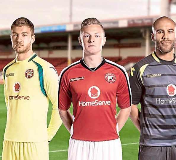 Walsall FC New Kit 2014