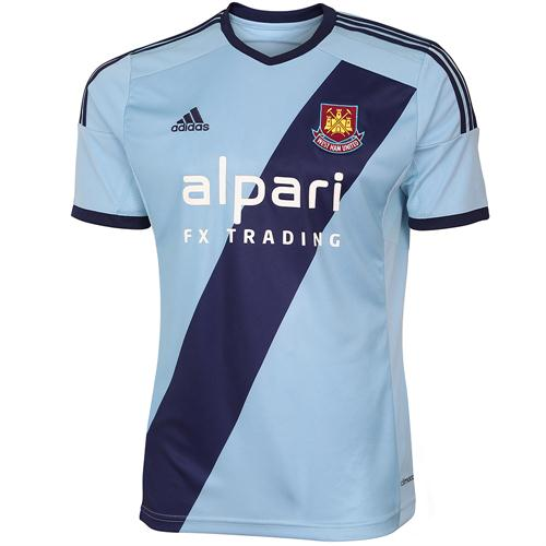 West Ham Blue Shirt 2014 15