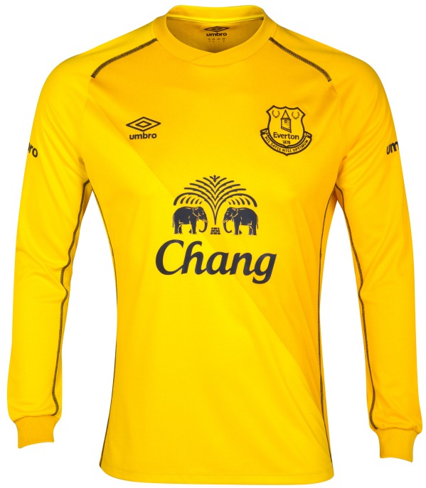 Yellow EFC Goalkeeper Kit 14 15
