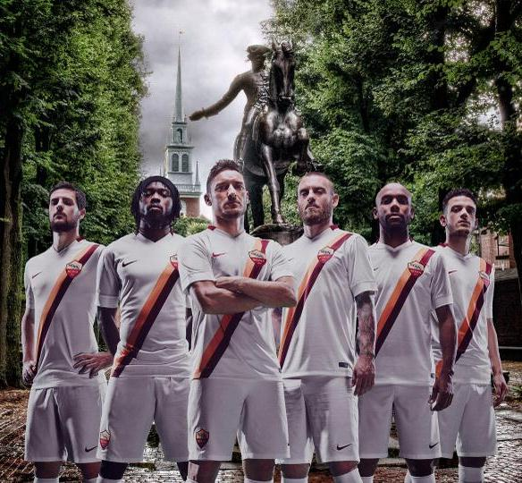 AS Roma Away Jersey 2014 2015