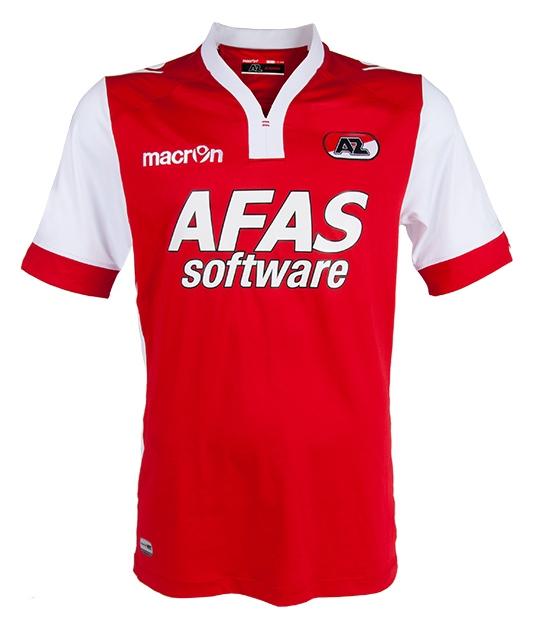 AZ Alkmaar Home Shirt 2014 15