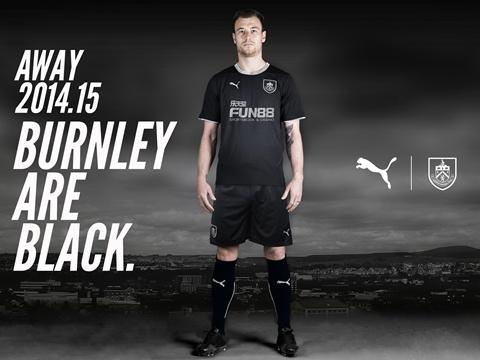 Black Burnley Shirt 2014 2015