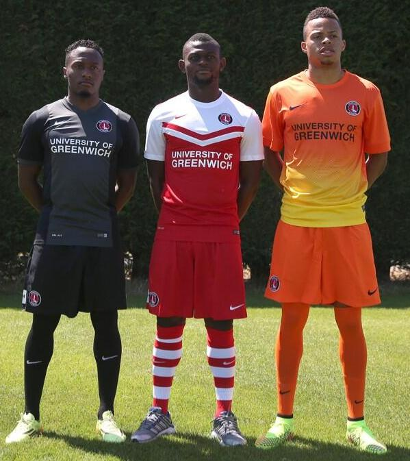 Charlton New Third Kit 2014 15