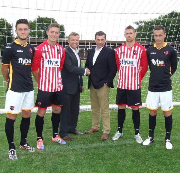 New Exeter City Kits 2014/15- Joma ECFC Home Away Shirts 14/15