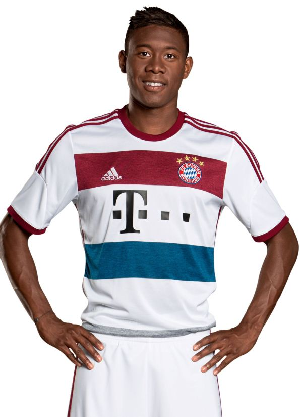 FC Bayern Away Shirt 2014 2015
