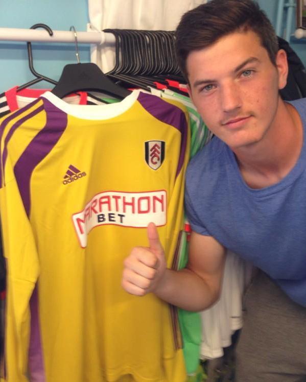 Fulham Away Gk Shirt Adidas