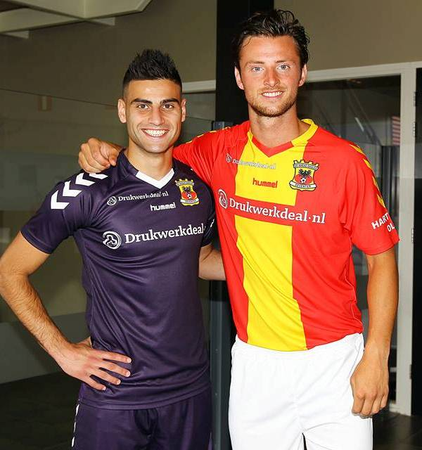 New Go Ahead Eagles Shirt 14/15- Hummel GA Eagles Home Away Kits 2014/2015
