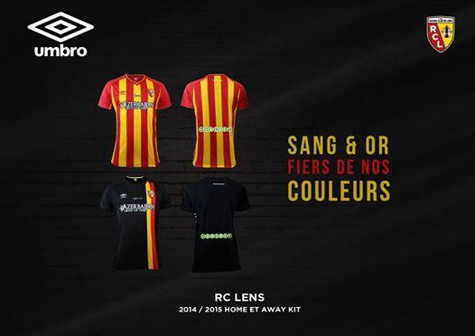 Lens Football Shirts 2014 2015