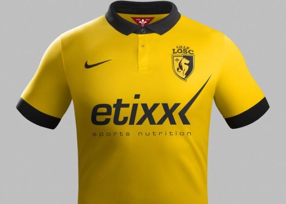 Lille Away Kit 2014 15