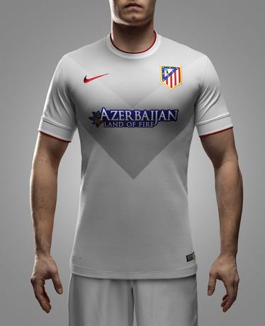 New Atletico Madrid Away Kit 14 15