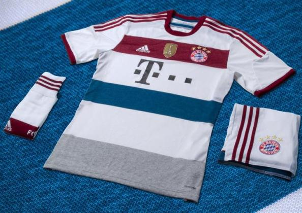 New Bayern Munich Away Kit 2014 15