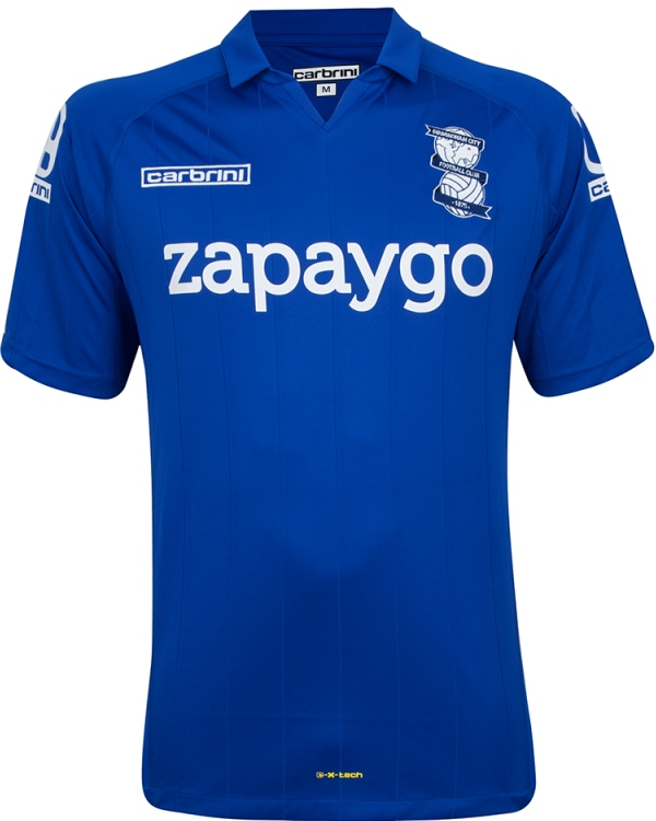 New Birmingham City Home Kit 2014 15
