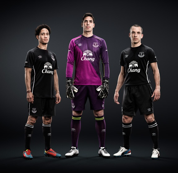 New Everton Away Kit 14 15