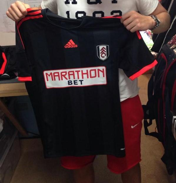 New Fulham Away Jersey 2014 2015