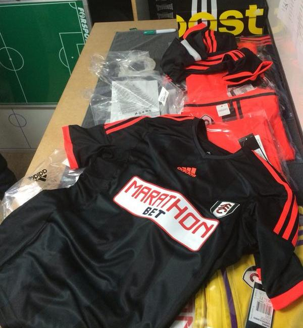 New Fulham Away Kit 14 15