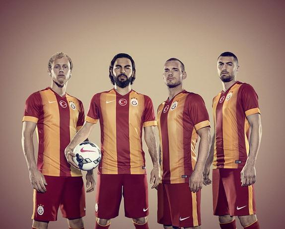 New Galatasaray SK Kits 14/15- Nike Gala Home Away Jerseys 2014/15
