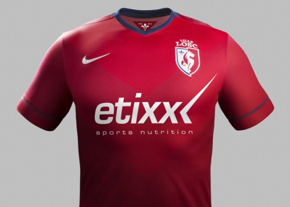 New Lille Home Shirt 2014 15