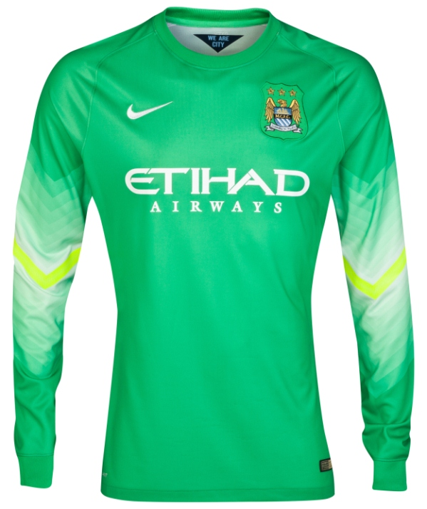 New Man City GK Kit 2014 15