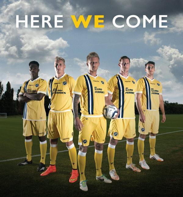 New Millwall Away Kit 2014 15